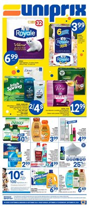 Grocery offers in the Uniprix catalogue in Saint-Georges