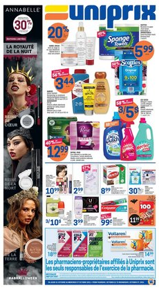 Uniprix deals in the Uniprix catalogue ( 2 days left)
