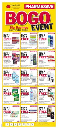 Pharmacy & Beauty offers in the Pharmasave catalogue in Toronto