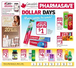 Pharmasave deals in the Calgary flyer