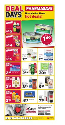 Pharmacy & Beauty offers in the Pharmasave catalogue in Winnipeg ( 1 day ago )