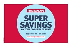 Pharmasave catalogue ( 3 days left )