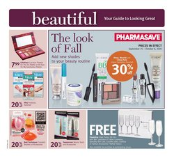 Pharmacy & Beauty offers in the Pharmasave catalogue ( Published today )
