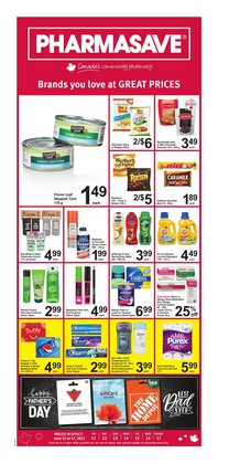 Pharmacy & Beauty deals in the Pharmasave catalogue ( 2 days left)