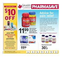 Pharmacy & Beauty deals in the Pharmasave catalogue ( Expires tomorrow)
