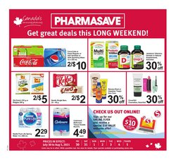 Pharmacy & Beauty deals in the Pharmasave catalogue ( Expires today)