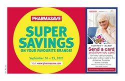 Pharmacy & Beauty deals in the Pharmasave catalogue ( 6 days left)