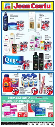 Jean Coutu deals in the Ottawa flyer