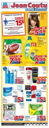 Pharmacy & Beauty offers in the Jean Coutu catalogue in Salaberry-de-Valleyfield