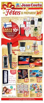Jean Coutu deals in the Victoriaville flyer