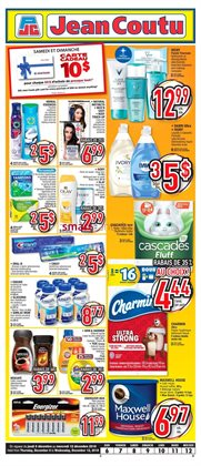 Jean Coutu deals in the Sherbrooke QC flyer