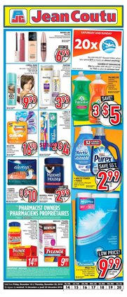 Pharmacy & Beauty offers in the Jean Coutu catalogue in Cornwall
