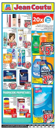 Pharmacy & Beauty offers in the Jean Coutu catalogue in Montreal