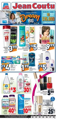 Jean Coutu deals in the Moncton flyer