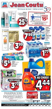 Pharmacy & Beauty offers in the Jean Coutu catalogue in Buckingham
