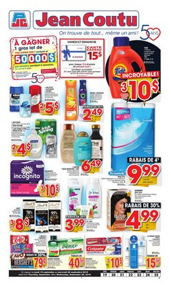Jean Coutu deals in the Saint-Georges flyer