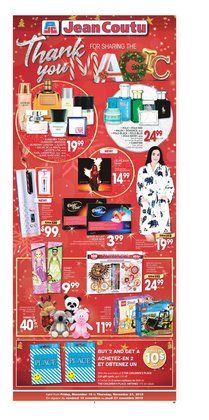 Pharmacy & Beauty offers in the Jean Coutu catalogue in Saint John
