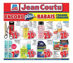 Pharmacy & Beauty offers in the Jean Coutu catalogue in Montreal ( Expires today )
