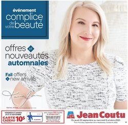 Pharmacy & Beauty deals in the Jean Coutu catalogue ( 1 day ago)