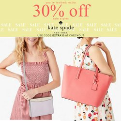 Kate Spade deals in the Kate Spade catalogue ( 4 days left)