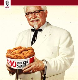 Restaurants offers in the KFC catalogue in Toronto