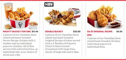 KFC catalogue ( 3 days left )