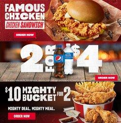KFC catalogue ( Published today )