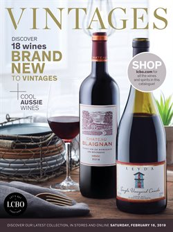 LCBO deals in the Scarborough flyer
