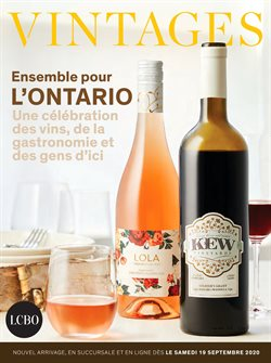 LCBO catalogue ( Published today )