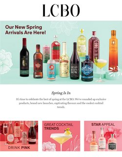 LCBO catalogue ( 4 days left )