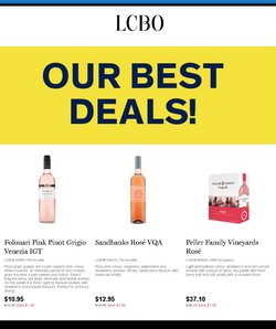 LCBO deals in the LCBO catalogue ( Expired)