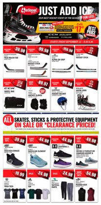 National Sports deals in the Toronto flyer