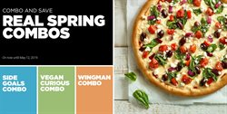 Restaurants offers in the Panago catalogue in Toronto