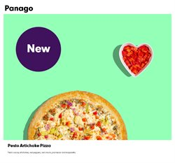 Restaurants offers in the Panago catalogue ( More than a month )