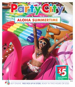 Party City deals in the Toronto flyer