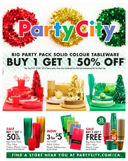 Kids, Toys & Babies offers in the Party City catalogue in Kitchener