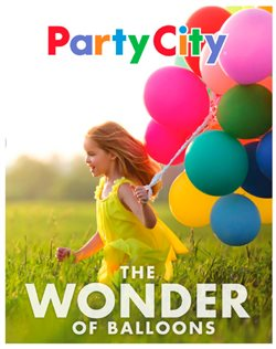 Party City deals in the Edmonton flyer