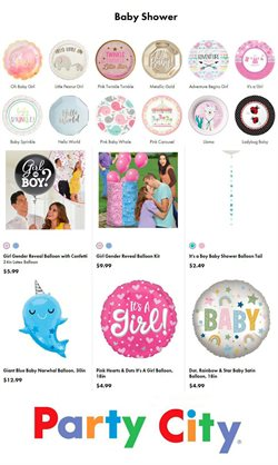 Kids, Toys & Babies offers in the Party City catalogue ( 5 days left )