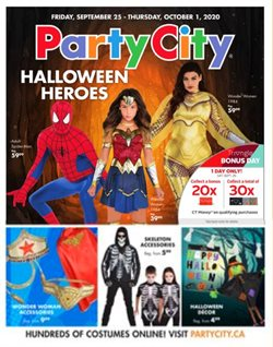 Halloween deals in the Party City catalogue ( 1 day ago)