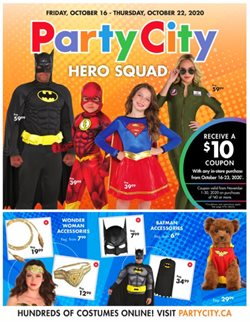 Party City catalogue ( Expired )