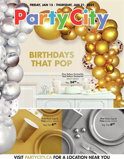 Party City catalogue ( 3 days left )