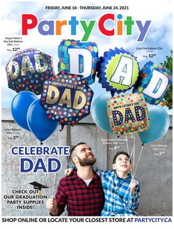 Party City deals in the Party City catalogue ( Expires tomorrow)