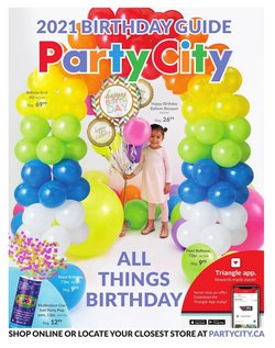 Kids, Toys & Babies deals in the Party City catalogue ( 21 days left)