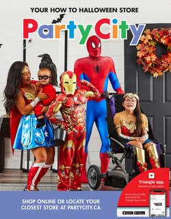Party City deals in the Party City catalogue ( Published today)