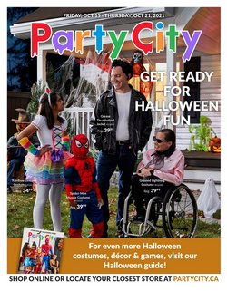 Kids, Toys & Babies deals in the Party City catalogue ( Expires tomorrow)