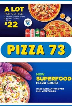 Pizza 73 catalogue ( 3 days ago )