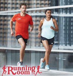 Sport deals in the Running Room catalogue ( Expires today)