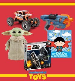 Kids, Toys & Babies deals in the Mastermind Toys catalogue ( Expires tomorrow)