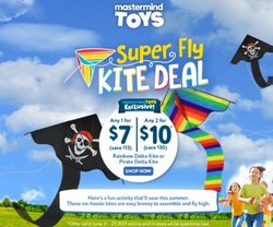 Kids, Toys & Babies deals in the Mastermind Toys catalogue ( Published today)