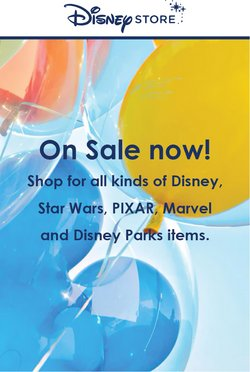 Kids, Toys & Babies deals in the Disney Store catalogue ( 10 days left)